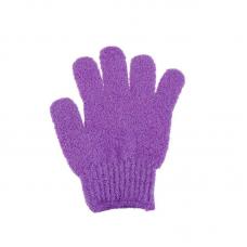 rosegal 1 Pair Shower Bath Gloves Exfoliating Wash Skin Spa Massage Scrub